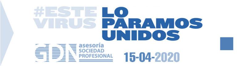EXTENSIÓN DEL PLAZO DE PAGO DE IMPUESTOS DEL PRIMER TRIMESTRE HASTA EL 20-05-2020